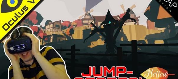 JUMPSCARE NECK-PAIN! ■ Hollow ■ Oculus Rift DK2 + Leap Motion
