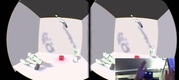 Oculus + Leap Motion + Skeletal