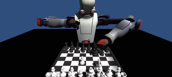 Leap Chess – why not play chess with a robot?