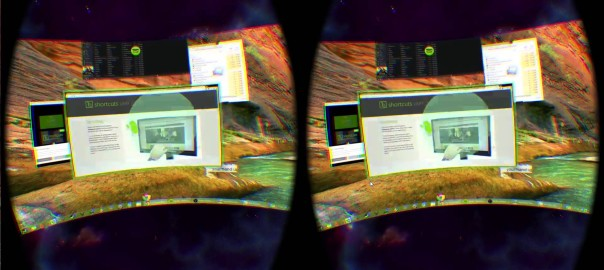 "Oculus Rift & ""Virtual Desktop"" wtih Leap Motion & ""Shortcuts"